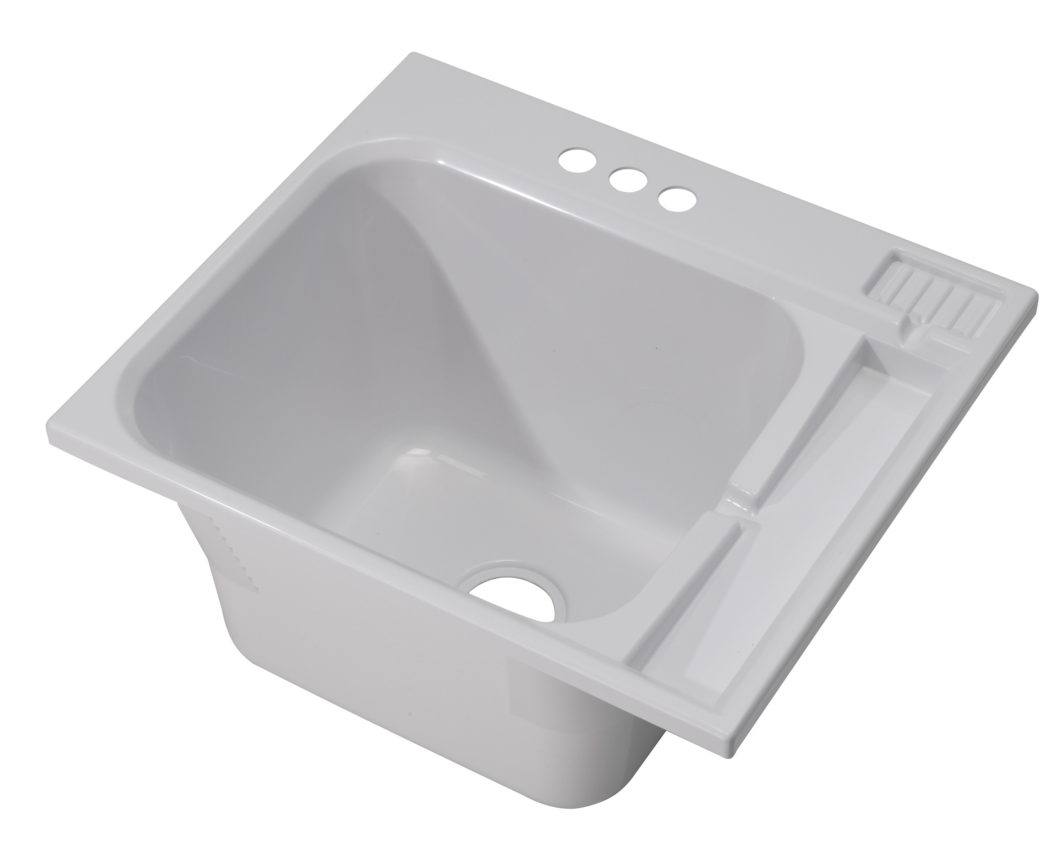 1970 20 01 25 X 22 Drop In Laundry Sink