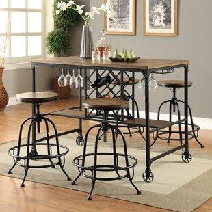 Colston 5 Piece Pub Table Set By17 Stories ...