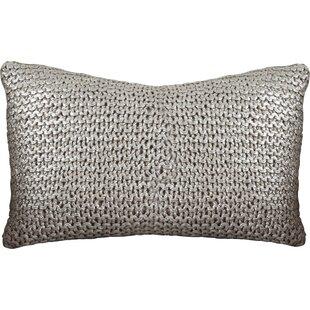 Hiran Knitted Cotton Lumbar Pillow