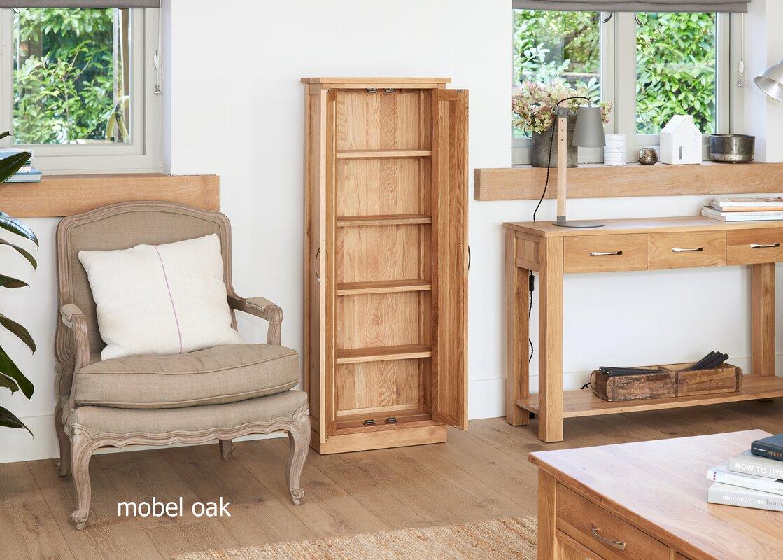 Baumhaus Mobel Oak Multimedia Cabinet & Reviews | Wayfair.co.uk