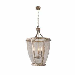 Gerome 3-Light Lantern Pendant by 17 Stories