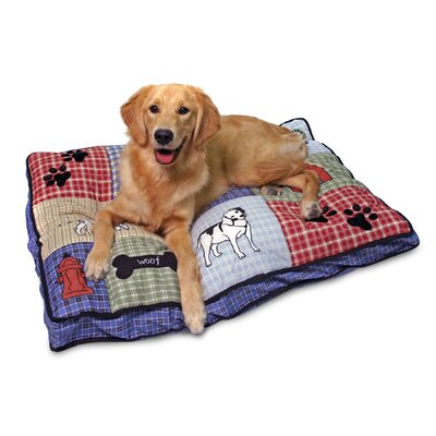 Quilted Classic Applique Gusseted Pillow Aspen Pet