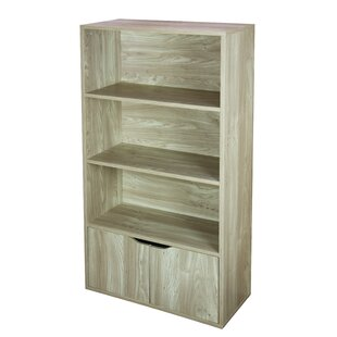 Kiersten 3 Tier Wood Standard Bookcase