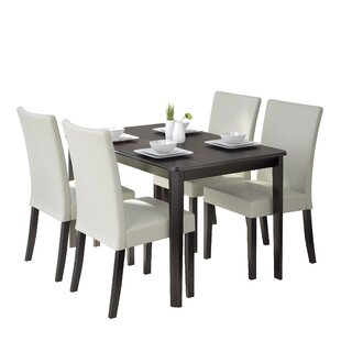 Dunster 5 Piece Dining Set by Darby Home Co