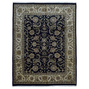 Top One-of-a-Kind Ballyclarc Hand Woven Wool Black/Gray Area Rug By Isabelline