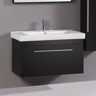 Jeremy 40 Single Vanity Set with Mirror