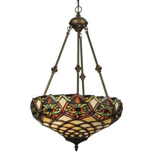 Meyda Tiffany Tiffany Nouveau Franco 2-Light Bowl Pendant
