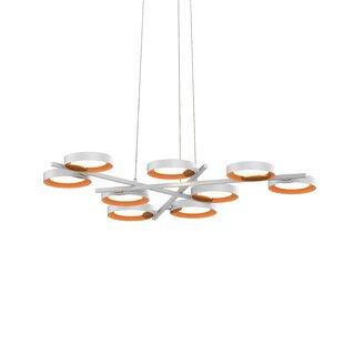 Tayler 9-Light Geometric Chandelier by Brayden Studio