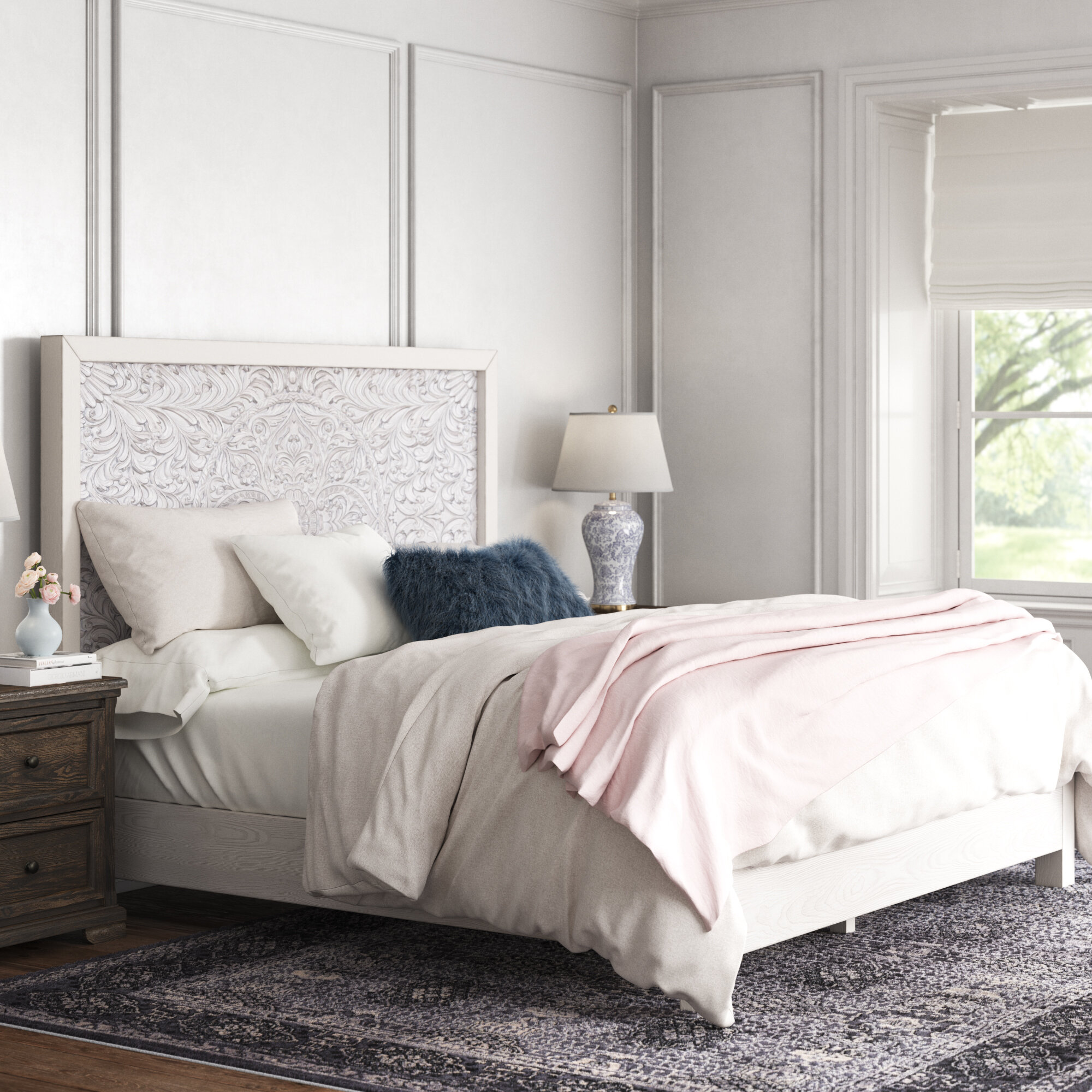 Kelly Clarkson Home Baxter Standard Bed Reviews Wayfair