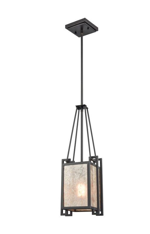 Williston Forge Buhl 1 - Light Single Rectangle Pendant