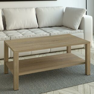 Rosamaria Wood Coffee Table by Highland Dunes Modern
