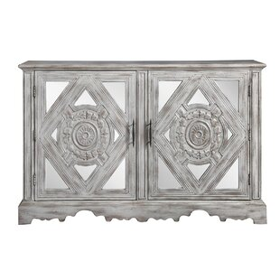 Baden-Powell 2 Door Accent Cabinet by Bungalow Rose