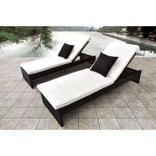 Plenus Chaise Lounge with Cushion