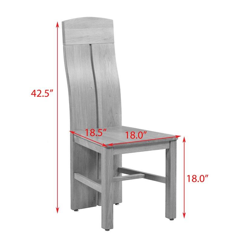 Kiazolu Solid Wood Dining Chair