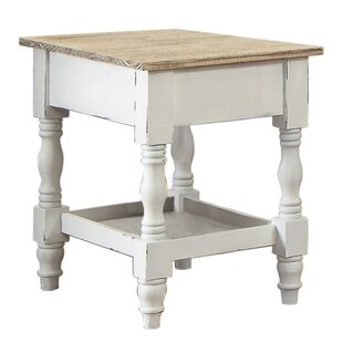 Tayler Chairside Table by August Grove