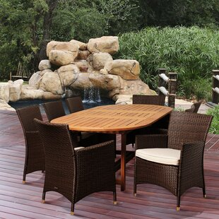 Rosecliff Heights Bridgepointe 9 Piece Dining Set