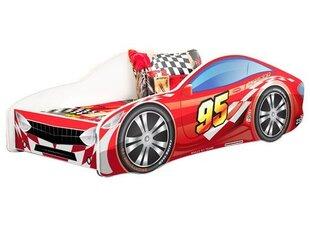Zoomie Kids Grier Kid Race Twin Car Bed