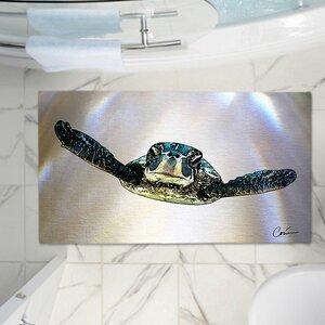 Corina Bakke's Turtle Memory Foam Bath Rug