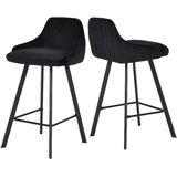 Mabton Velvet 26 Bar Stool (Set of 2) by House of Hampton®
