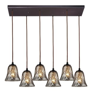Orwell 6-Light Cluster Pendant by Darby Home Co