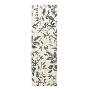 Fauna Hand-Hooked Cream/Gray Indoor/Outdoor Area Rug
