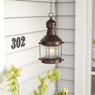 Oakhill 1-Light Outdoor Hanging Lantern by Charlton Home