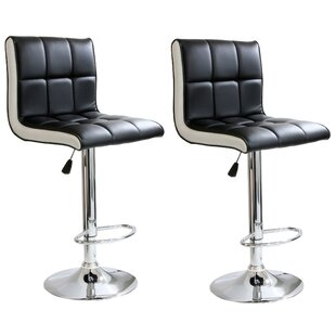 Southampton Adjustable Height Swivel Bar Stool (Set of 2)