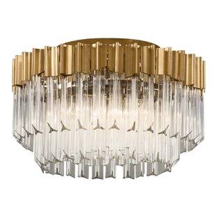 Corbett Lighting Charisma 3-Light Flush Mount