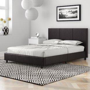 Zavier Upholstered Bed Frame By Wade Logan