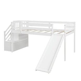 Mercurio Twin Low Loft Bed