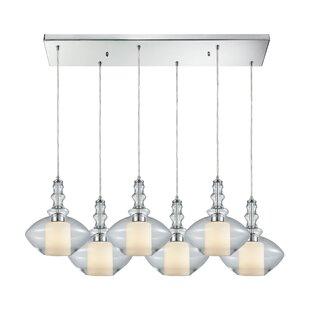 Brayden Studio Cabell 6-Light Kitchen Isl..