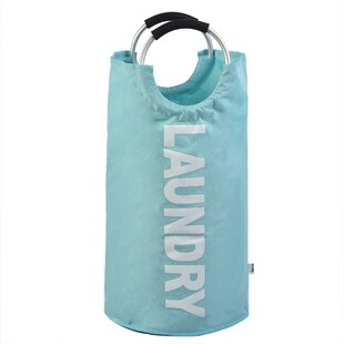 Review Round Alloy Handles Laundry Bag