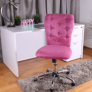 Blush Pink Desk Chair Wayfair