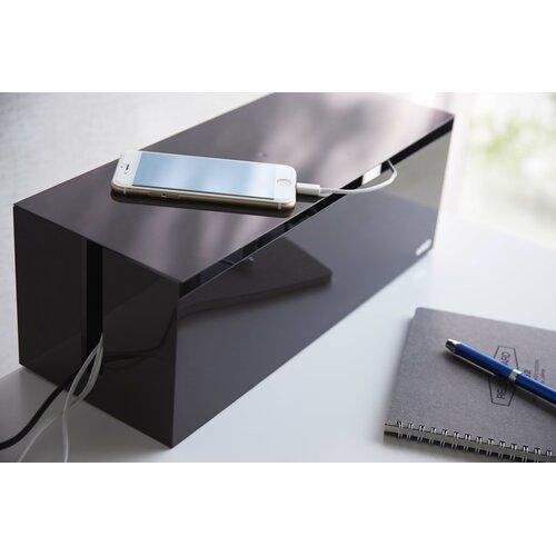 Kabelbox Web | Baumarkt > Elektroinstallation > Weitere-Kabel | Braun | Yamazaki