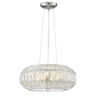 Rosdorf Park Astor 6-Light Crystal Chandelier