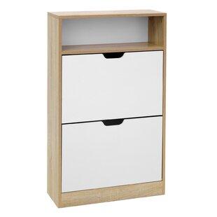 Mercury 18 Pair Shoe Storage Cabinet By Mercury Row