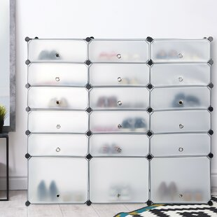 Symple Stuff 36 Pair Shoe Storage Cabinet By Symple Stuff