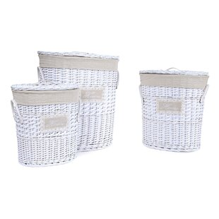 Home Wicker Laundry Set By August Grove