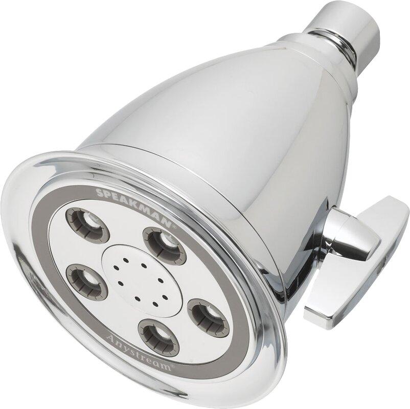 Speakman Hotel Massage Adjustable Shower Head 2.5 GPM & Reviews ...