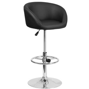 Nordquist Adjustable Height Swivel Bar Stool Orren Ellis
