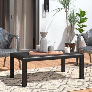 Crosstown Aluminum Coffee Table by Brayde..
