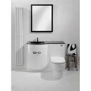 Ethen 1100mm Combined Vanity Unit By Belfry Bathroom
