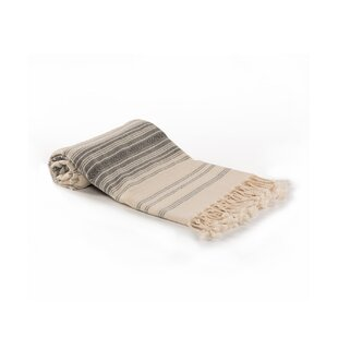 Shorehamby Ottoman Striped Turkish Cotton Bath Towel