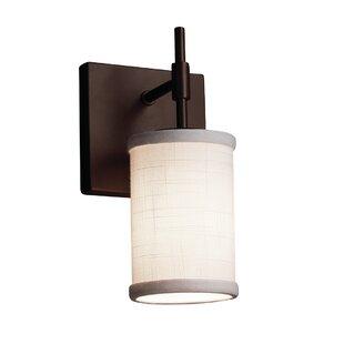 Latitude Run Red Hook Modern 1 Light LED Cylinder w/ Flat Rim Flush Mount