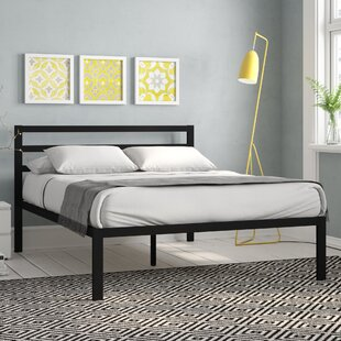 Hamby Metal Bed Frame By Wrought Studio