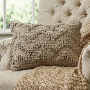 Blaise Looped Chevron Lumbar Pillow