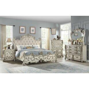 Dearborn Upholstered Standard Configurable Bedroom Set