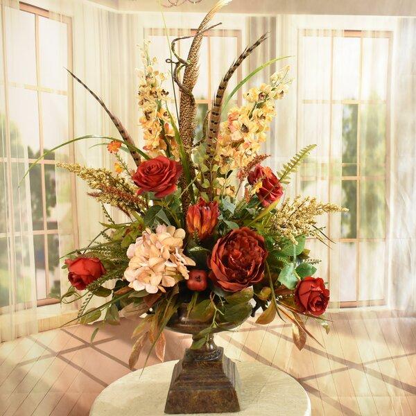 Large Faux Flower Arrangements Wayfair