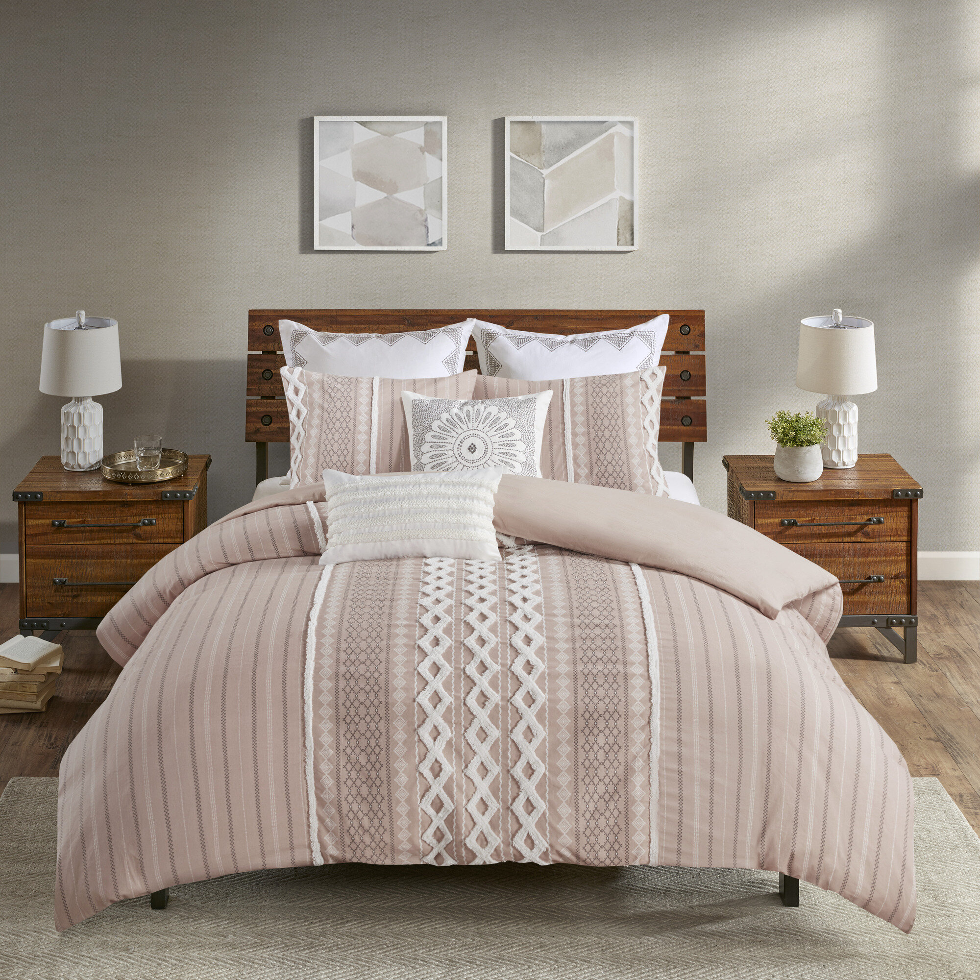 Duvet Pink Bedding Free Shipping Over 35 Wayfair