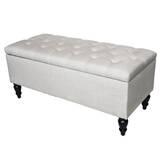 SantaClara Upholstered Storage Bench by Red Barrel Studio